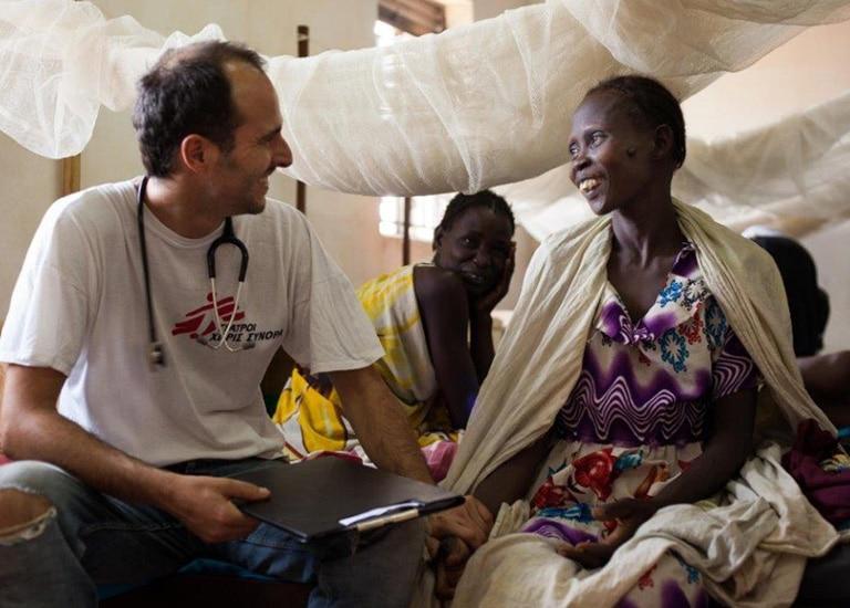 Témoignage CRM Médecins Sans Frontières