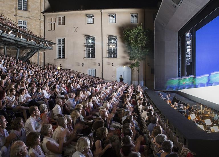 Témoignage CRM Festival d'Aix en Provence