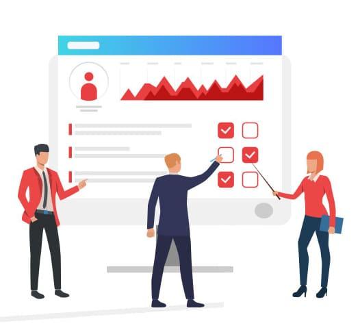 Online survey CRM