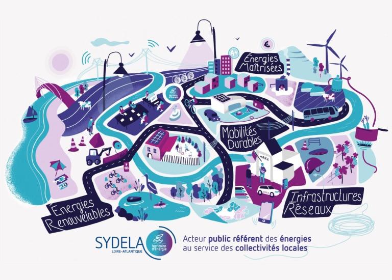 Sydela - Syndicat départemental d'énergie de Loire-Atlantique