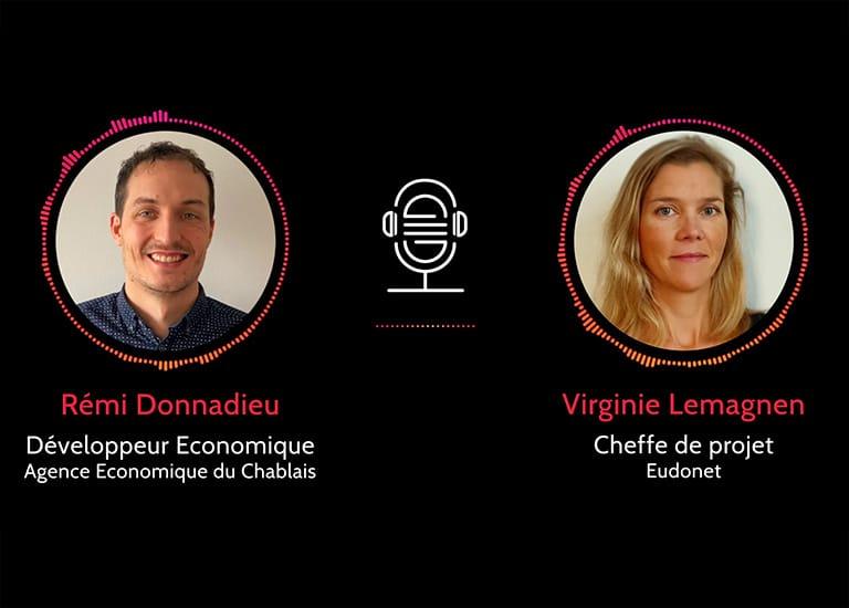 Podcast projet CRM Agence Economique du Chablais